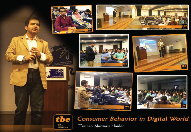 Consumer Behavior in Digital World @ SZABIST - Karachi