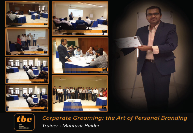 Corporate Grooming - the art of personal branding