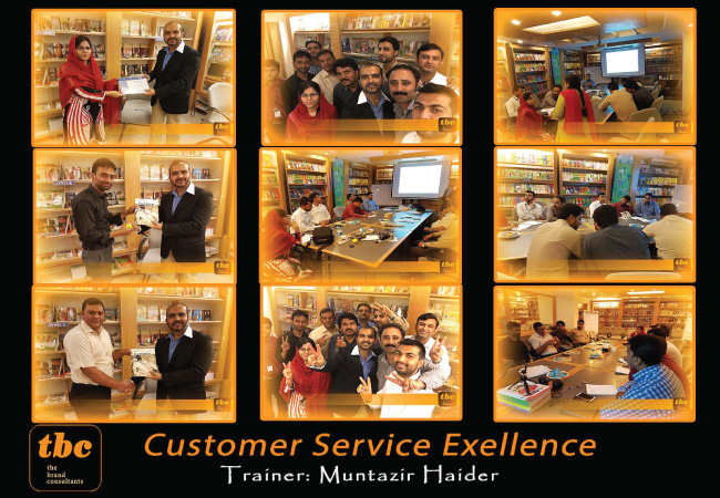 Customer Service Excellence @ Oxford University Press - Islamabad