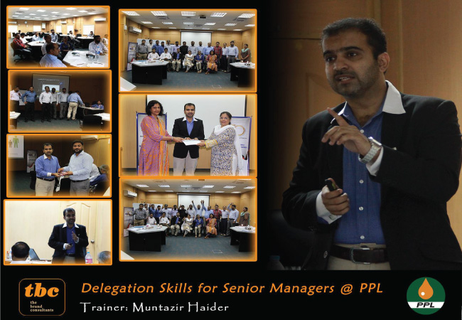 Delegation Skills - Senior Managers @ Pakistan Petroleum Limited