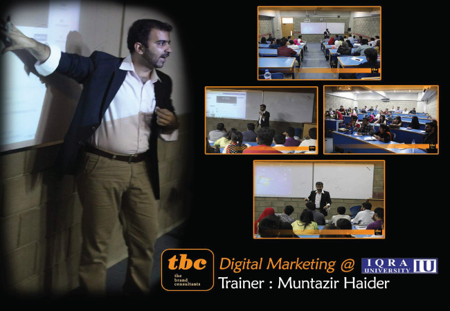 Digital Marketing @ Iqra University
