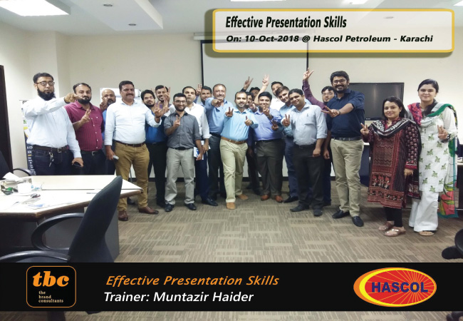 Effective Presentation Skills @ Hascol Petroleum Limited