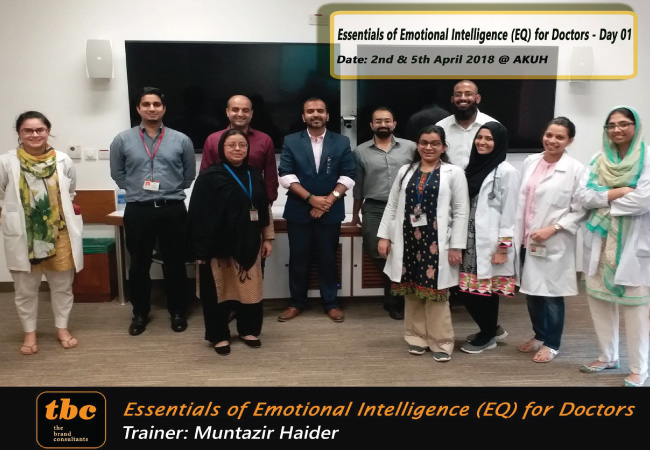 Emotional Intelligence for Doctors ... Batch 1