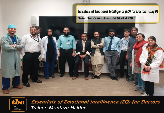 Emotional Intelligence for Doctors ... Batch 2