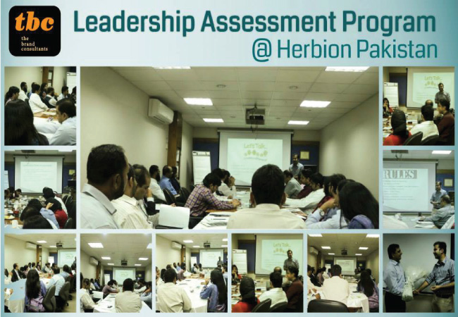 Leadership Assessment Program @ Herbion, Pakistan