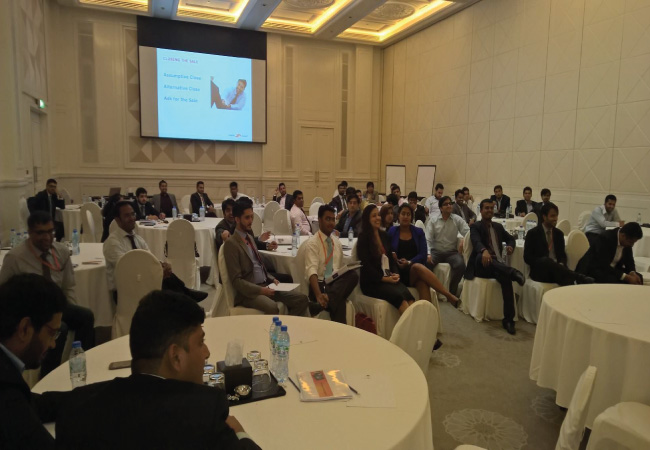 Sales Training Program for Mashreq Bank - UAE