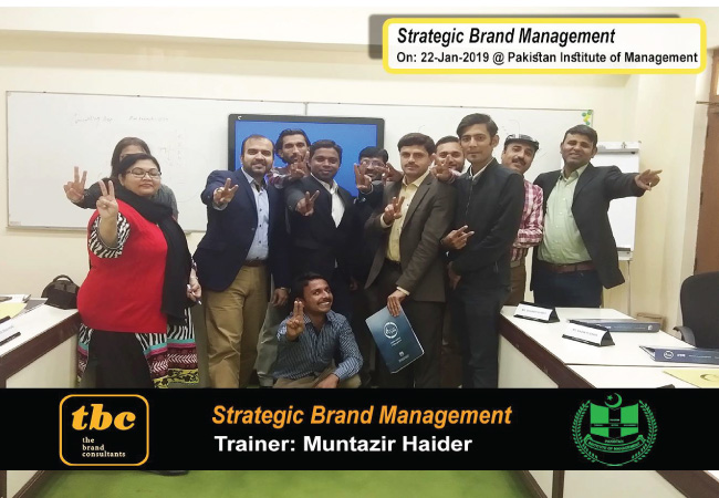 Strategic Brand Management @ Pakistan Institute of Management